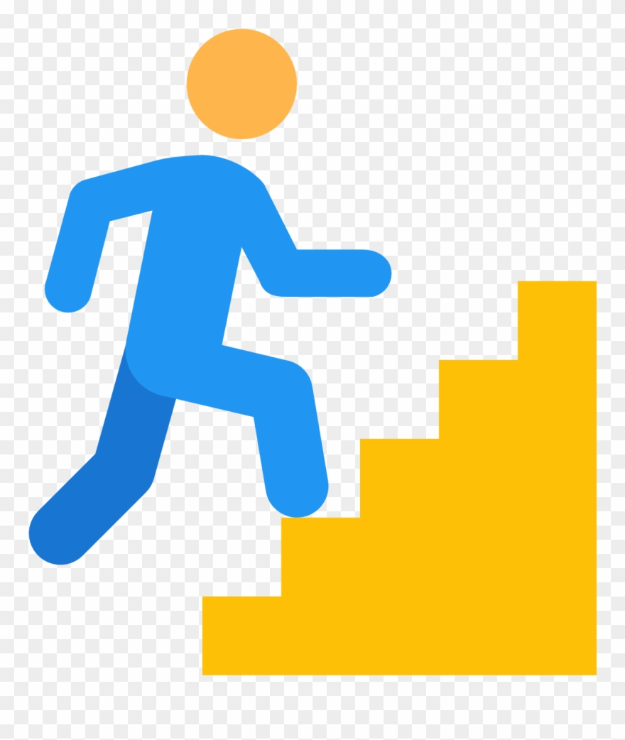 Wakeup Hill On Stairs Icon Free Download At Icons8.