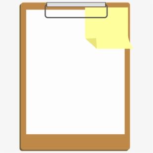 Clipart Clipboard Design Paper Icon Note White.