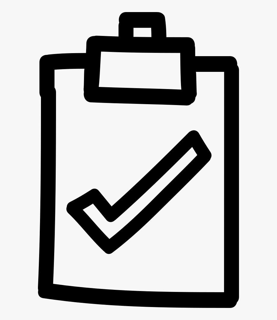 Checkmark Clipart Clipboard.