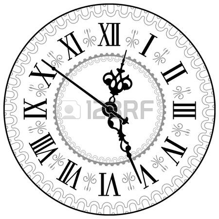 21,573 Clock Face Stock Illustrations, Cliparts And Royalty Free.