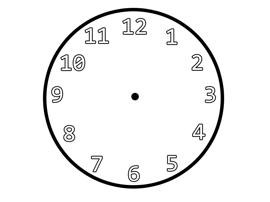 Clipart Clock Outline 20 Free Cliparts Download Images