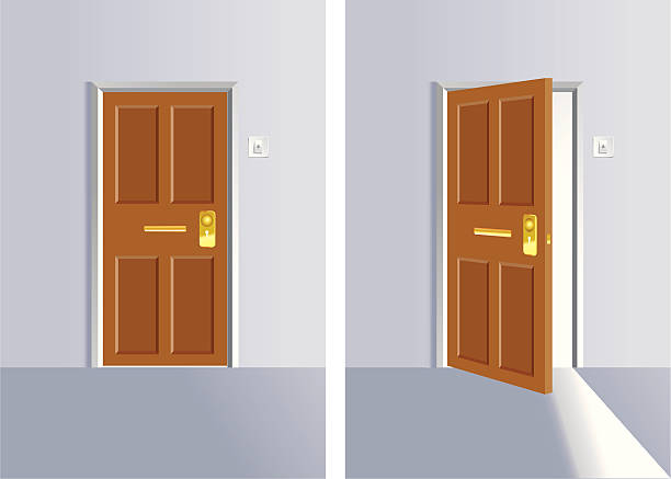 Best Closed Door Illustrations, Royalty.