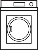 Clothes Washer Dryer Clip Art.