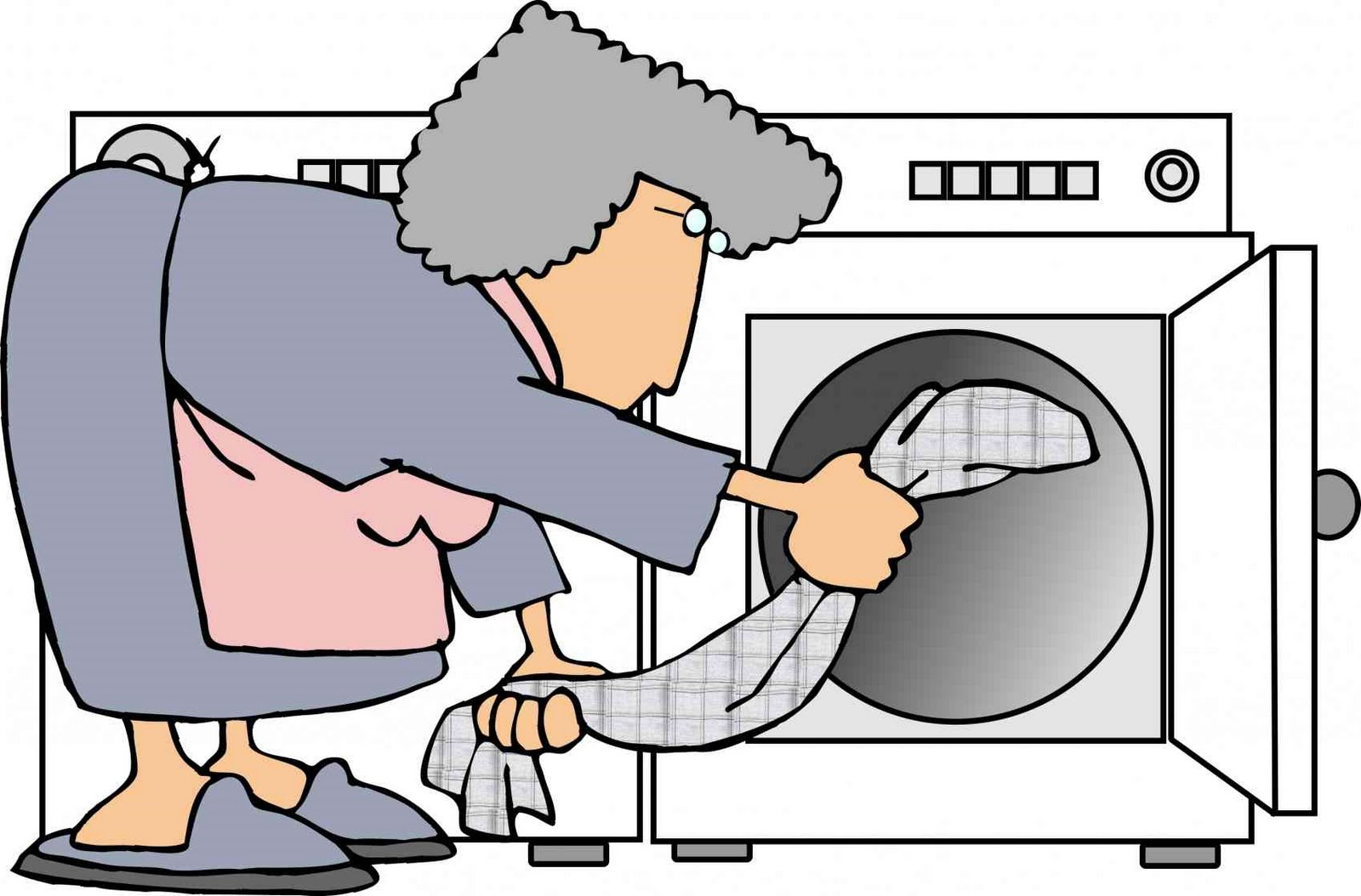 Venting Clothes Dryer Clip Art.