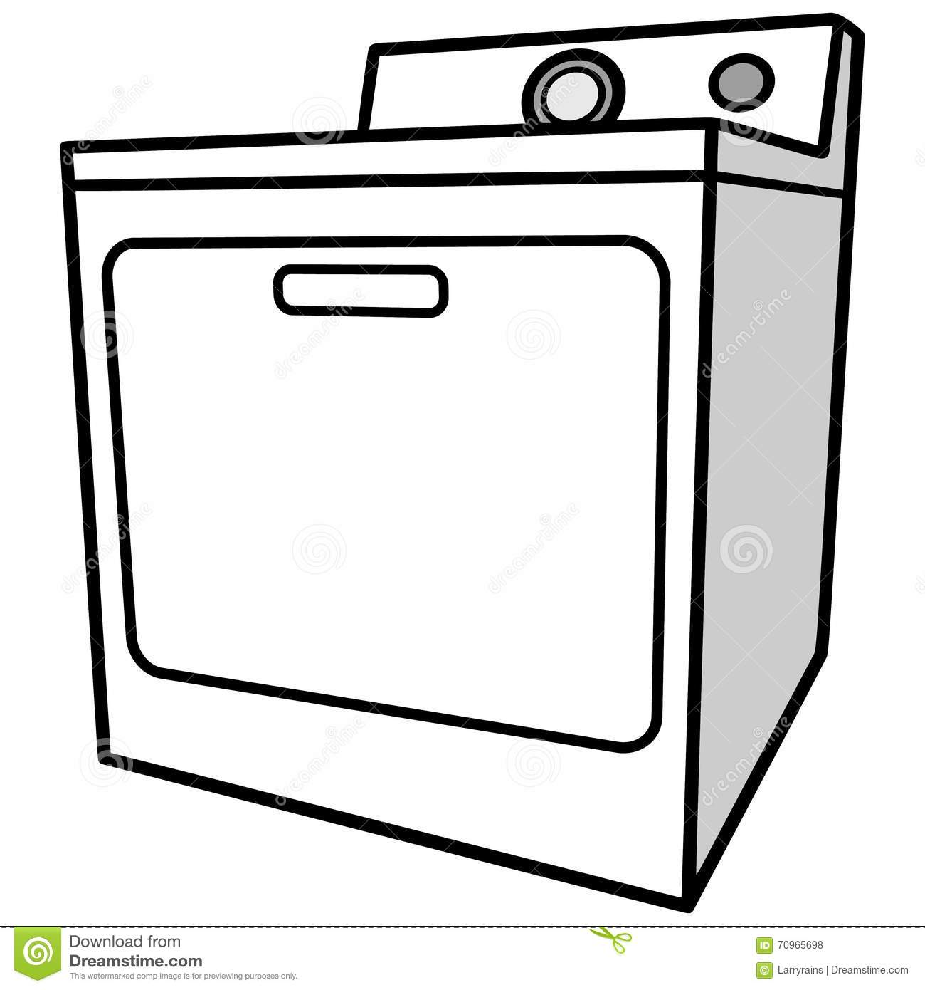Dryer Clip Art ~ Clipart clothes dryer clipground