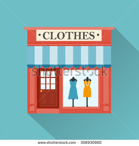 Clothing Store Stock Vectors, Images & Vector Art.