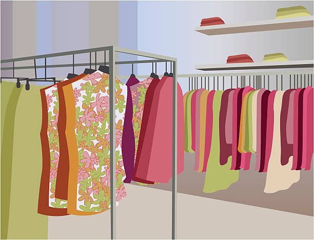 Clothing Store Clip Art, Vector Images & Illustrations.