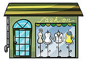 Clothing Store Clip Art.