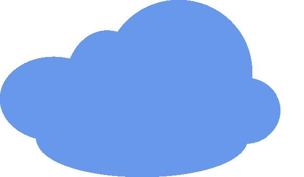 Cloud Blue Modified Clip Art at Clker.com.