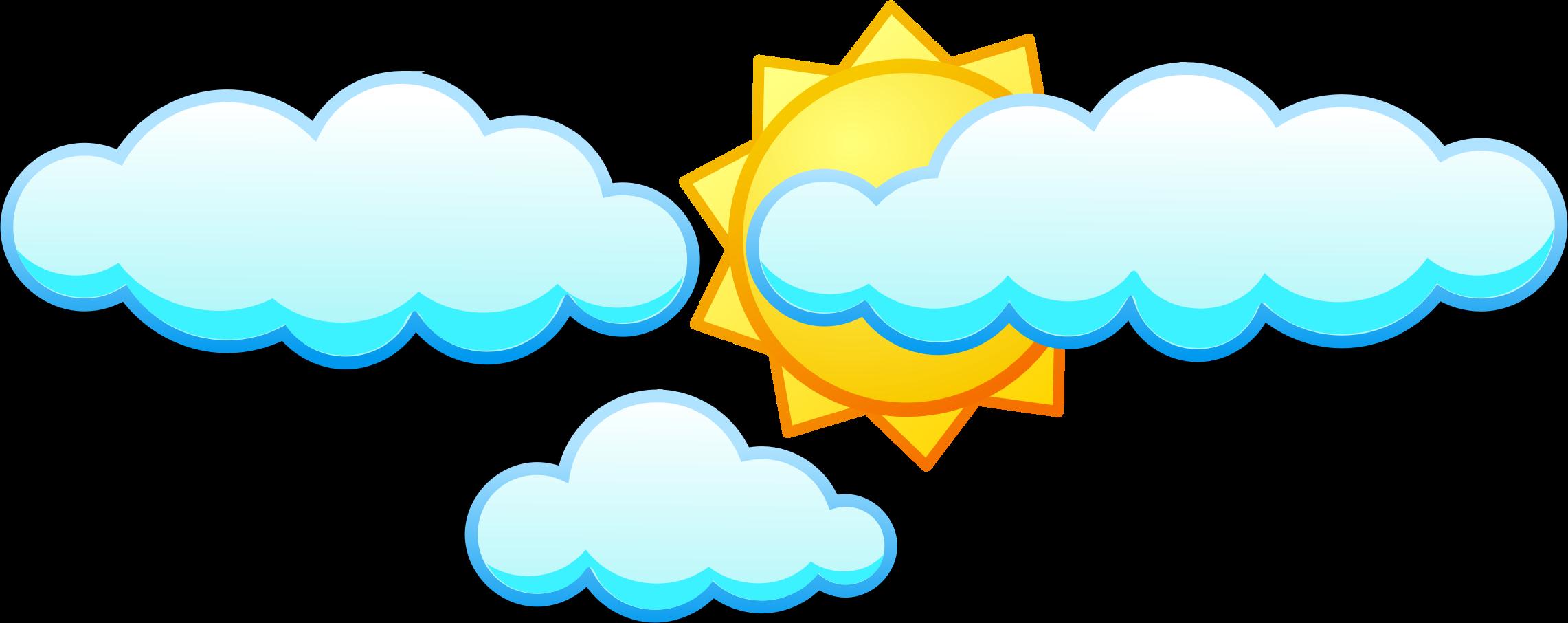 Sun Cloud Clipart.