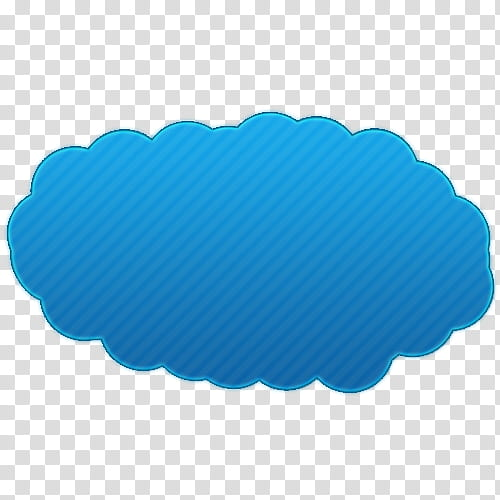 Blue clouds art transparent background PNG clipart.