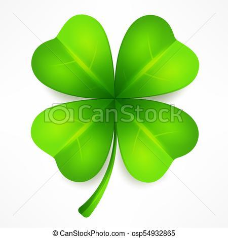 Lucky clover leaf.