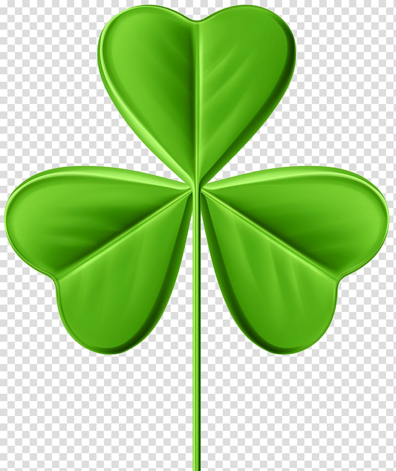 Clover art, Shamrock , Shamrock Clover transparent background PNG.