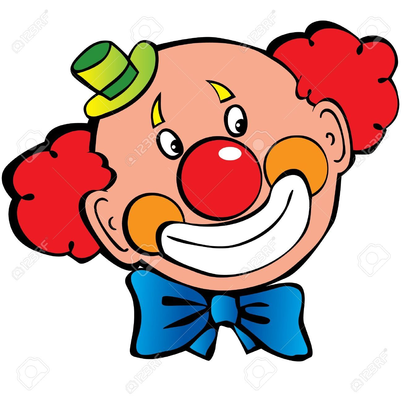 Image of clown face clipart 9 free clown clipart 1 page of.