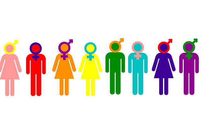 gender identity clipart.