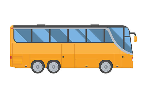 Best Coach Bus Illustrations, Royalty.