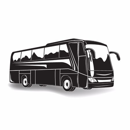 2,679 Coach Bus Stock Illustrations, Cliparts And Royalty Free Coach.