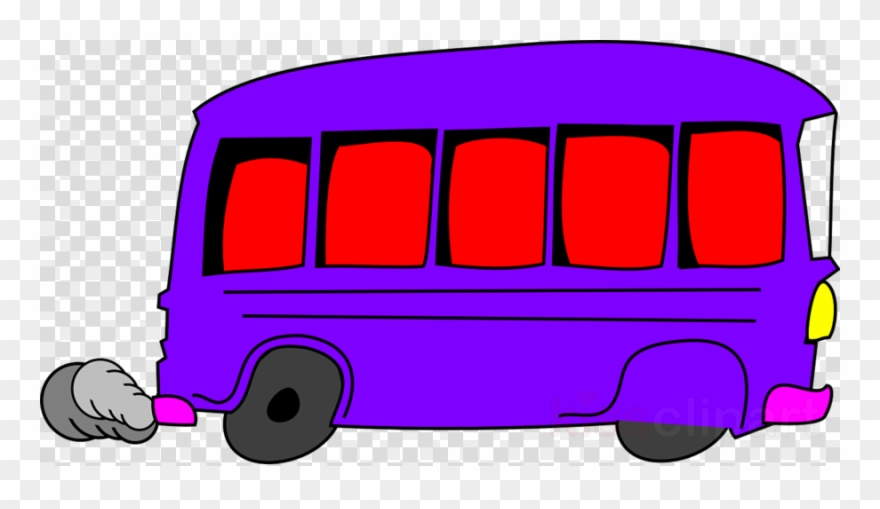 Purple Bus Cartoon Clipart Bus Coach Clip Art.