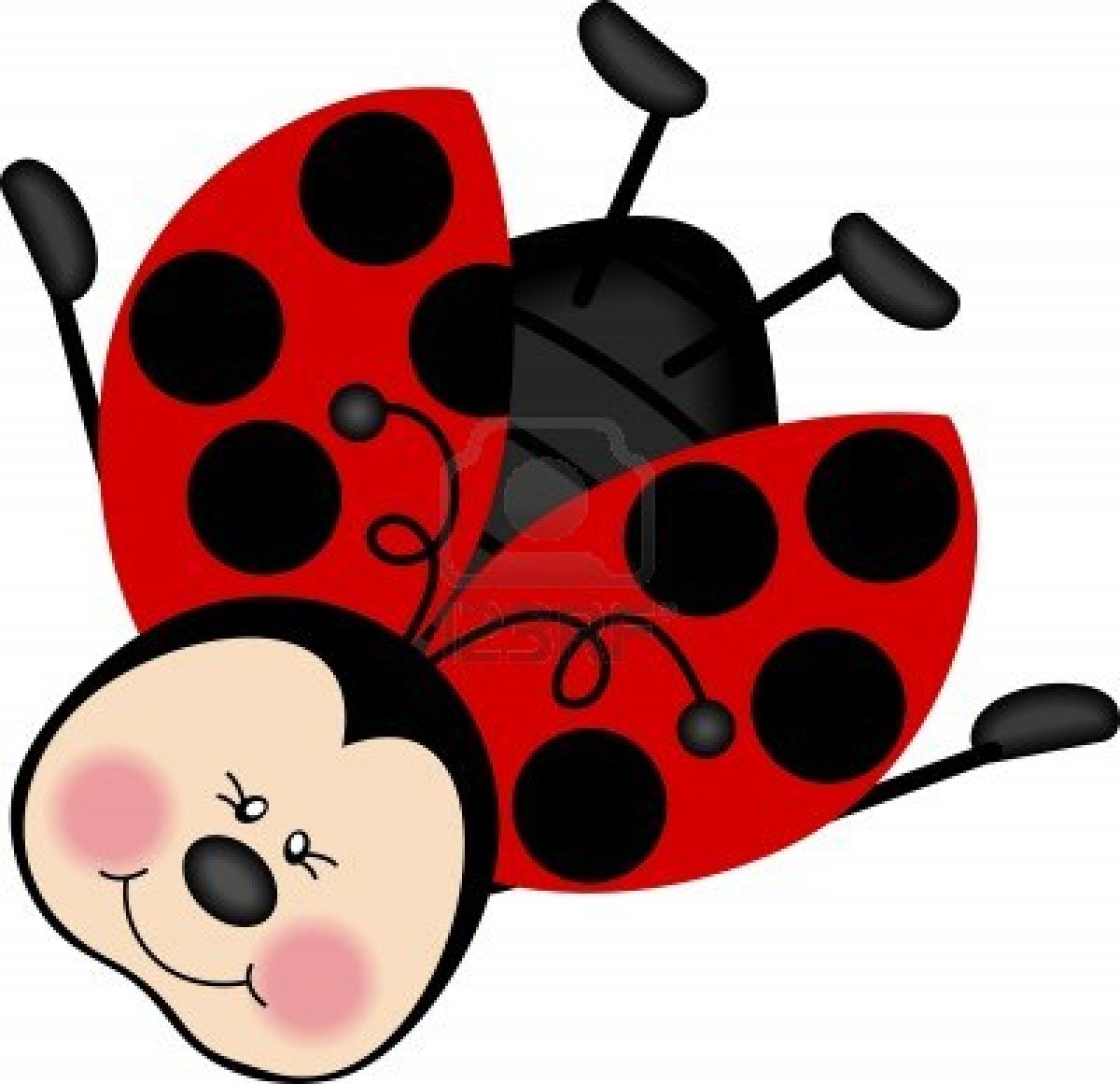Clipart coccinelle 7 » Clipart Station.