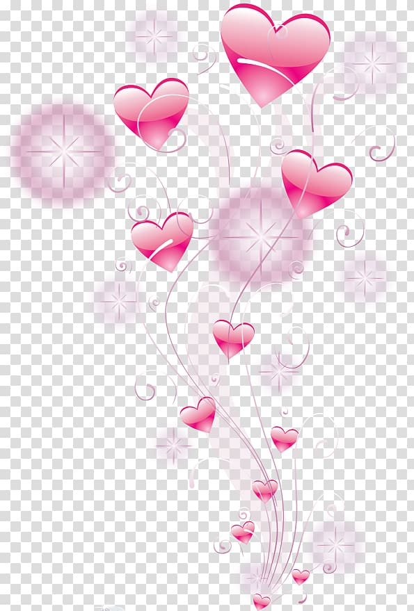 Love Heart , coeur fille transparent background PNG clipart.