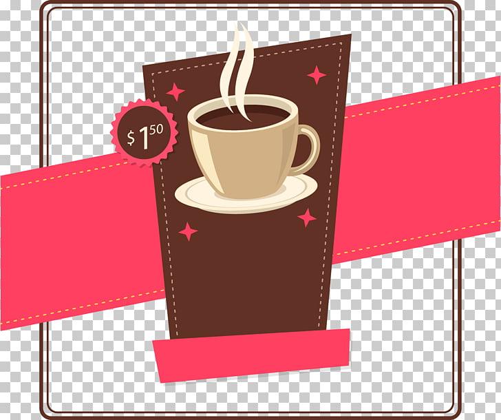 Irish coffee Cappuccino Cafe Brewed coffee, coffee price tag.