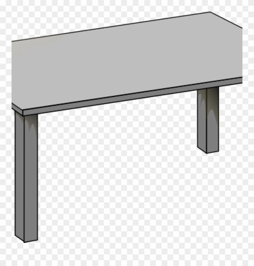 Table Clipart Silver.