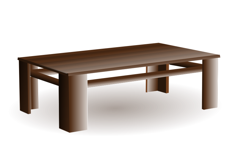 Free Clipart: Coffee table.