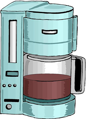 Coffee Maker Clip Art.