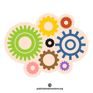 59 free clipart gears cogs.