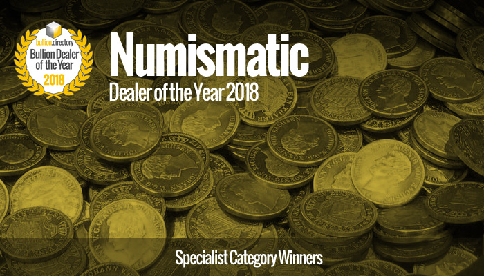 Bullion Dealer Of The Year 2018.