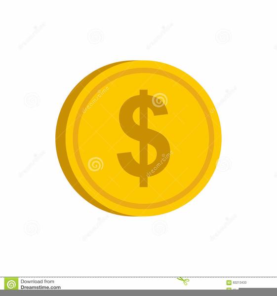 Coin Dealer Clipart.