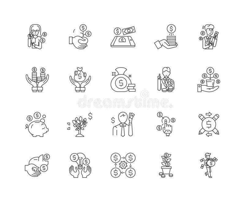 Dealer Outline Stock Illustrations.