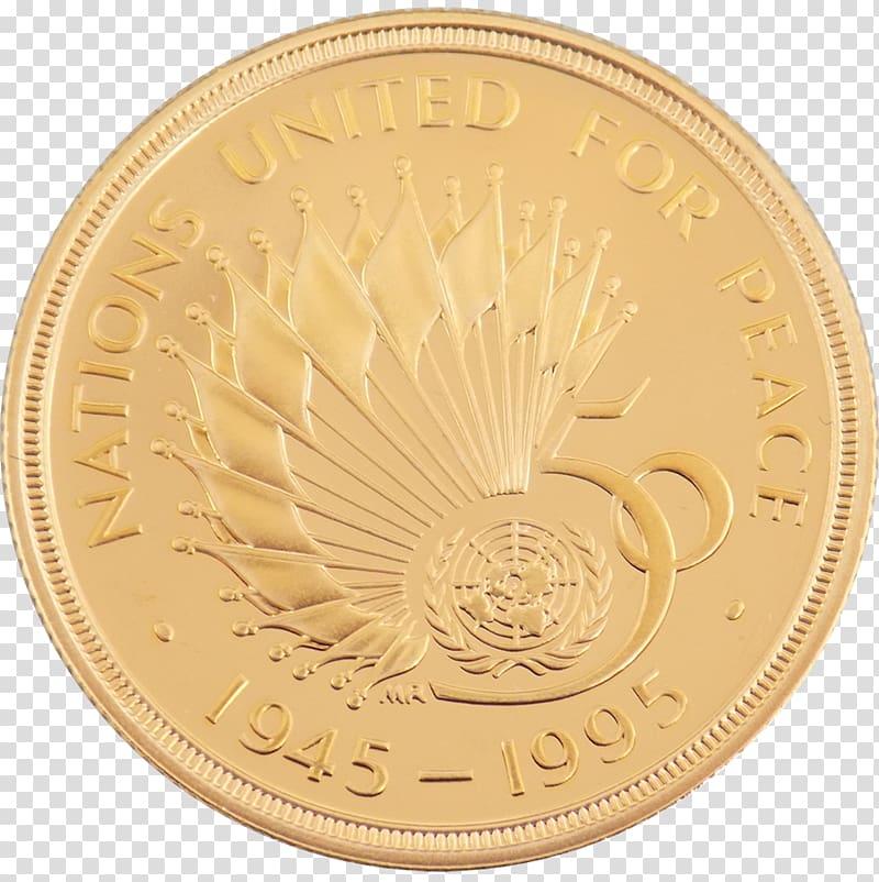 Coin grading Gold coin Britannia, 50th coin transparent.