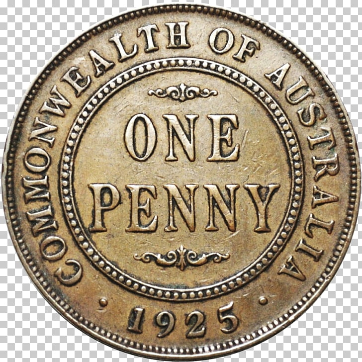 Coin Penny Lincoln cent Value Obverse and reverse, Coin PNG.