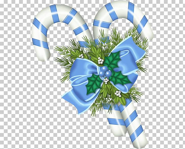 Candy cane Christmas ornament Christmas decoration , cok PNG.