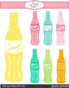 Soda Bottle Clipart.