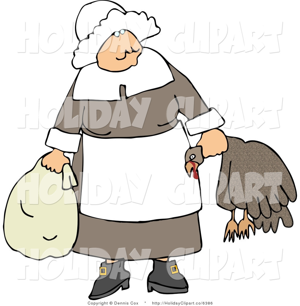 Cold Old Woman Clipart.