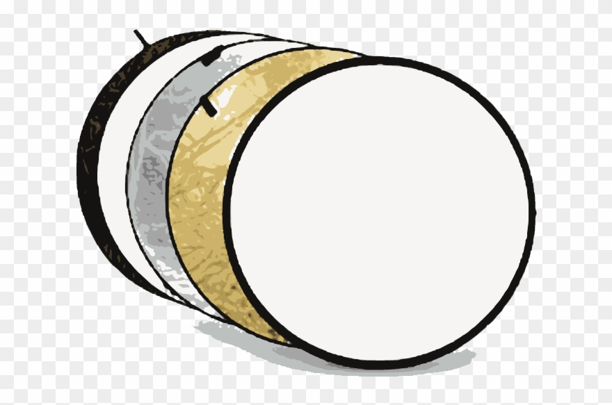 Collapsible Reflectors Clipart (#2424857).