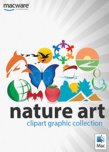 Amazon.com: Nature Art ClipArt Graphic Collection for Mac.