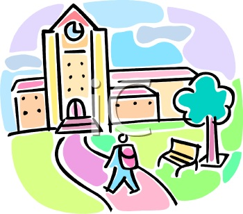 College clipart college campus, College college campus.