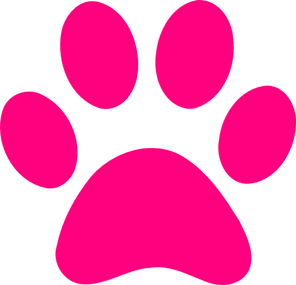 pink print.