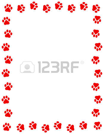 633 Paw Border Stock Illustrations, Cliparts And Royalty Free Paw.