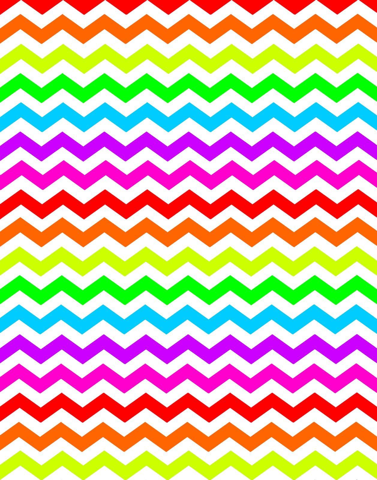 Neon Colors Wallpaper.