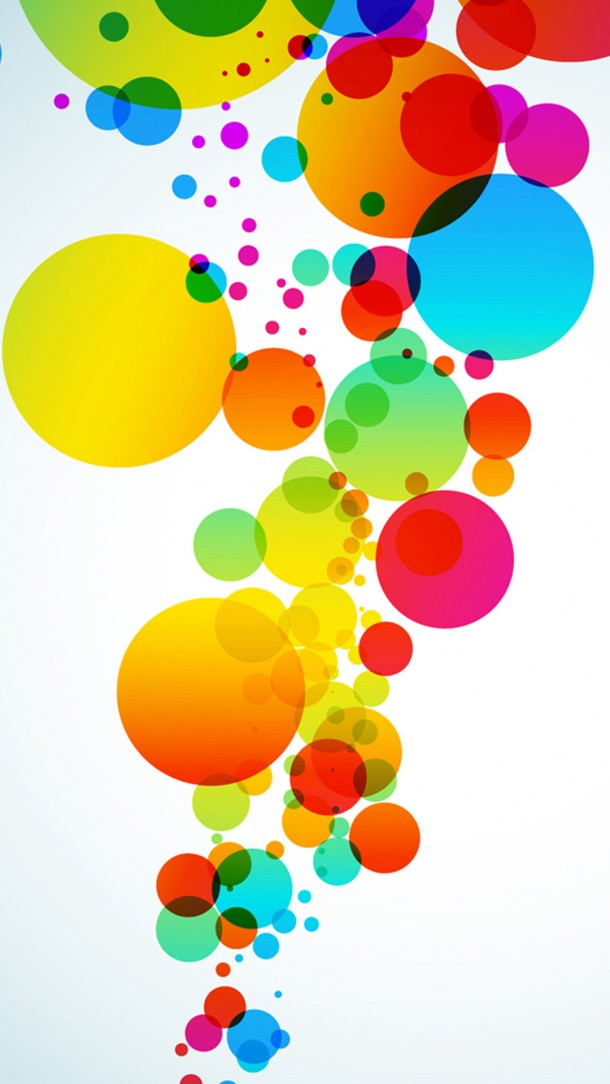 clipart color circles wallpaper #9