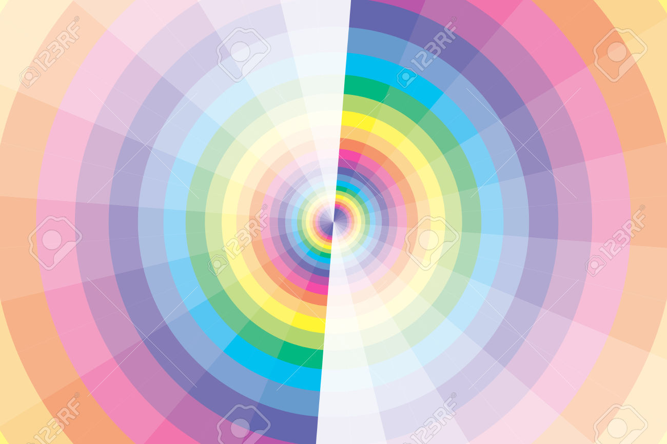 Background Material Wallpaper, Rainbow.