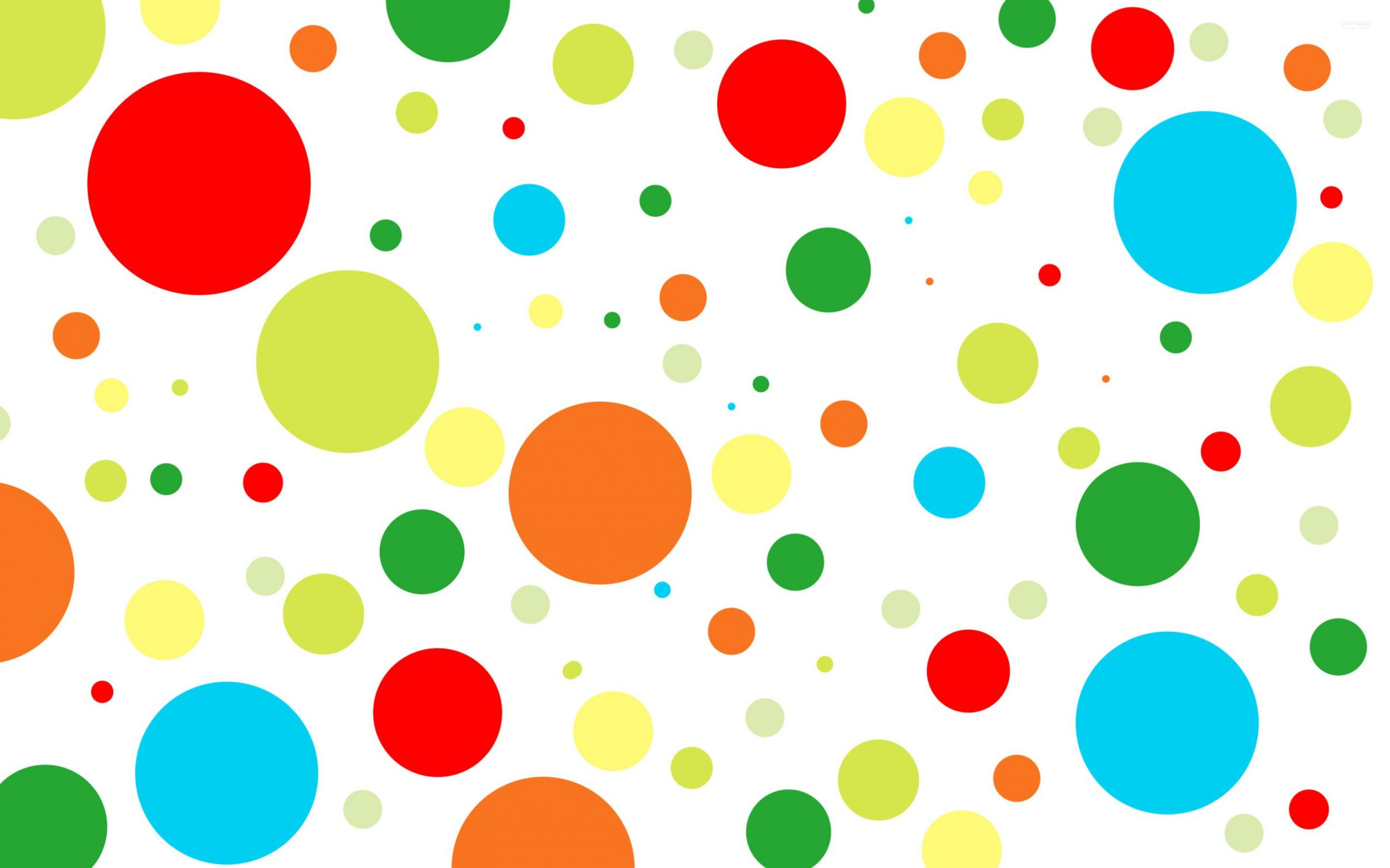 clipart color circles wallpaper #17