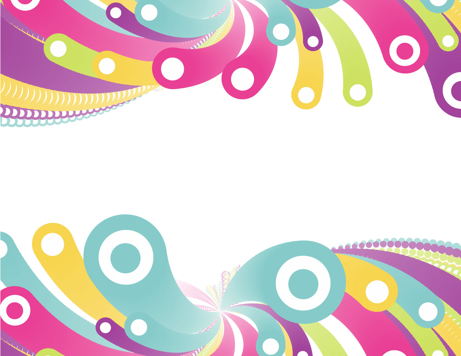 Colored Circles Free PPT Backgrounds for your PowerPoint Templates.