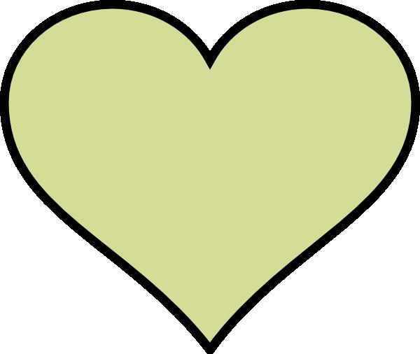 Green Heart Different Colour Clip Art at Clker.com.