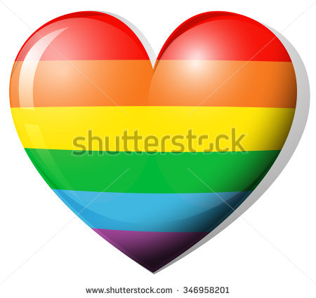 Rainbow Heart Clipart Stock Images, Royalty.