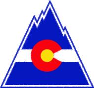 Colorado Flag Clipart.